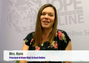 Principal Horn of Hope High Online