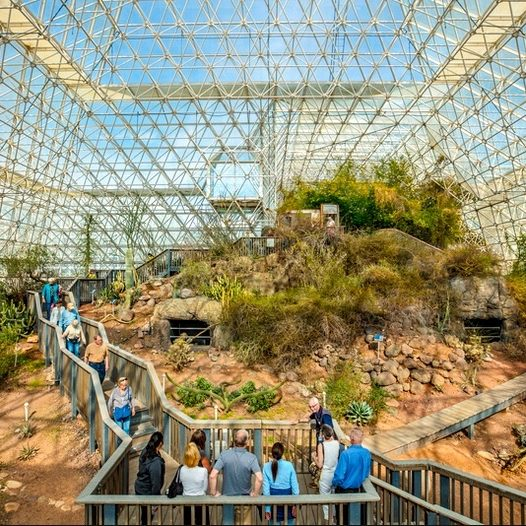 accredited Arizona online high school takes Arizona high school online students on field trip to Biosphere